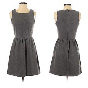 GAP dark Gray a line mini dress with pockets